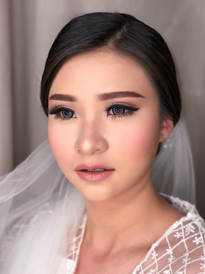 Wedding Look for Ms Meisie by Erliana Lim Makeup Artist - 006