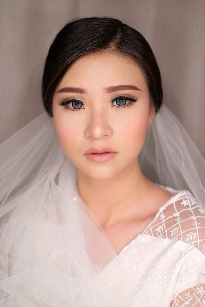 Wedding Look for Ms Meisie by Erliana Lim Makeup Artist - 007