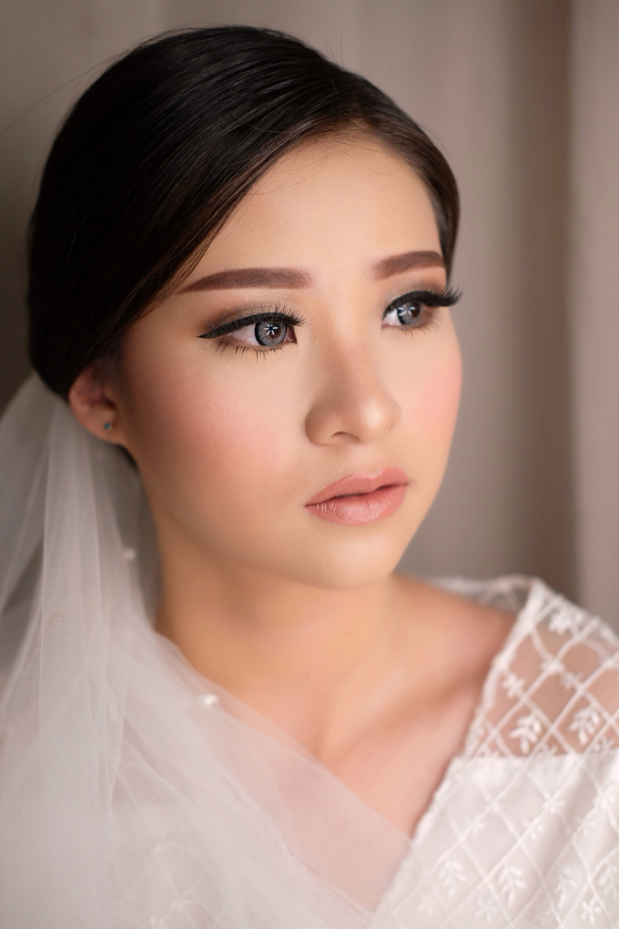 Wedding Look for Ms Meisie by Erliana Lim Makeup Artist - 008