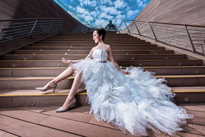 Natural Korean Bridal Look by Beautistylebykoreen - 012