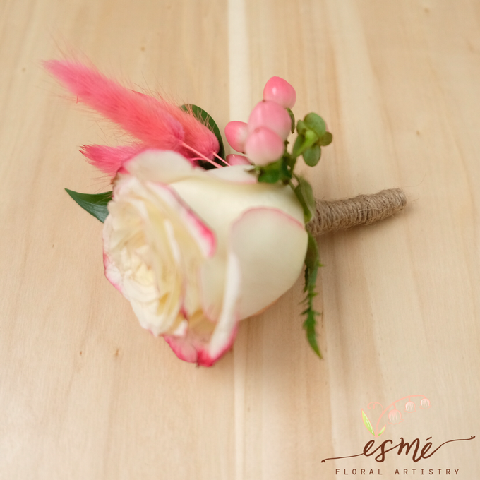 Boutonnieres by Esme Floral Artistry - 001