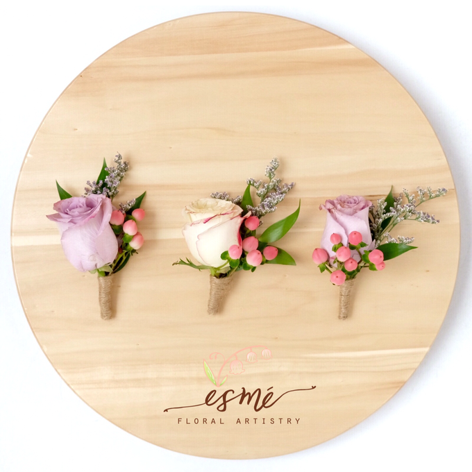 Boutonnieres by Esme Floral Artistry - 003