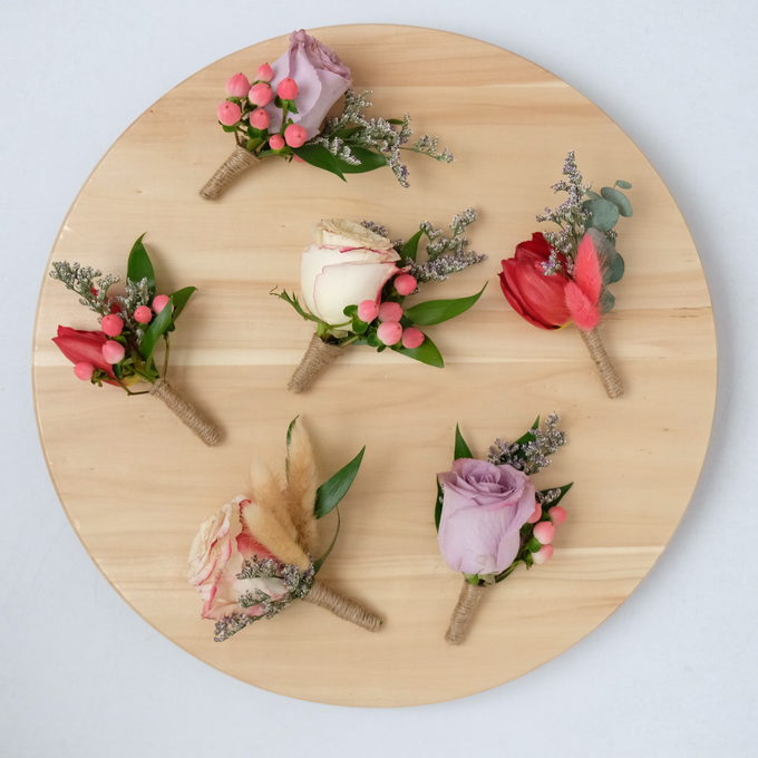 Boutonnieres by Esme Floral Artistry - 004