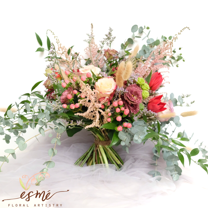 Bridal Bouquet by Esme Floral Artistry - 010