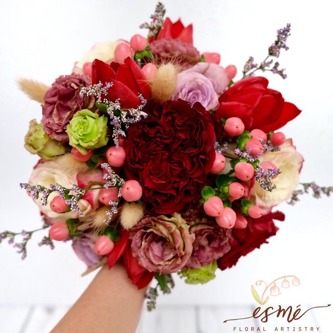 Bridal Bouquet by Esme Floral Artistry - 011
