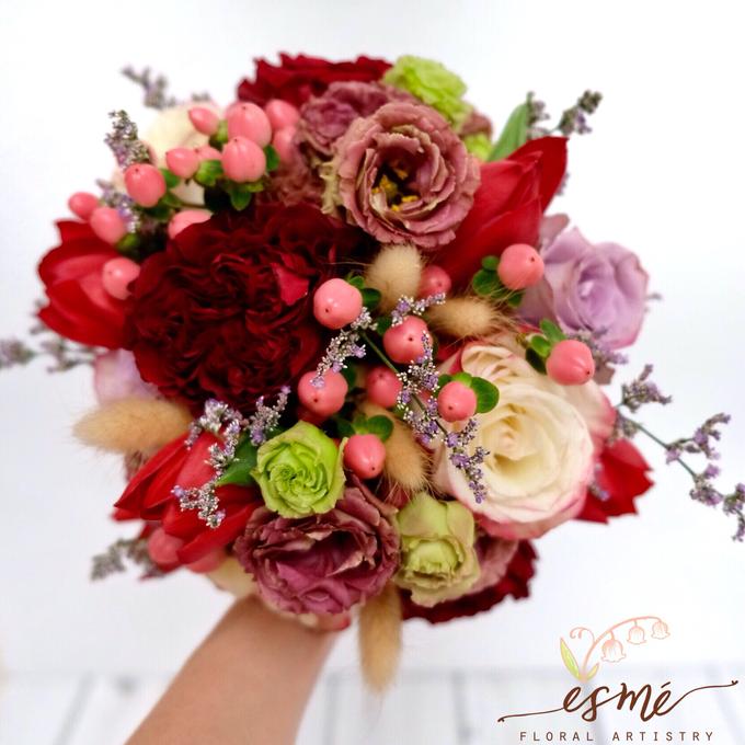 Bridal Bouquet by Esme Floral Artistry - 012