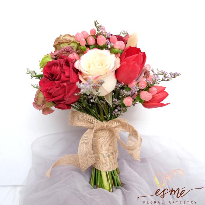 Bridal Bouquet by Esme Floral Artistry - 013