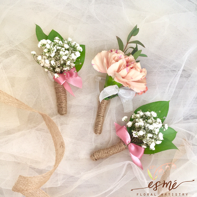 Boutonnieres by Esme Floral Artistry - 009