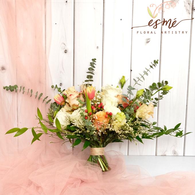 Bridal Bouquet by Esme Floral Artistry - 014