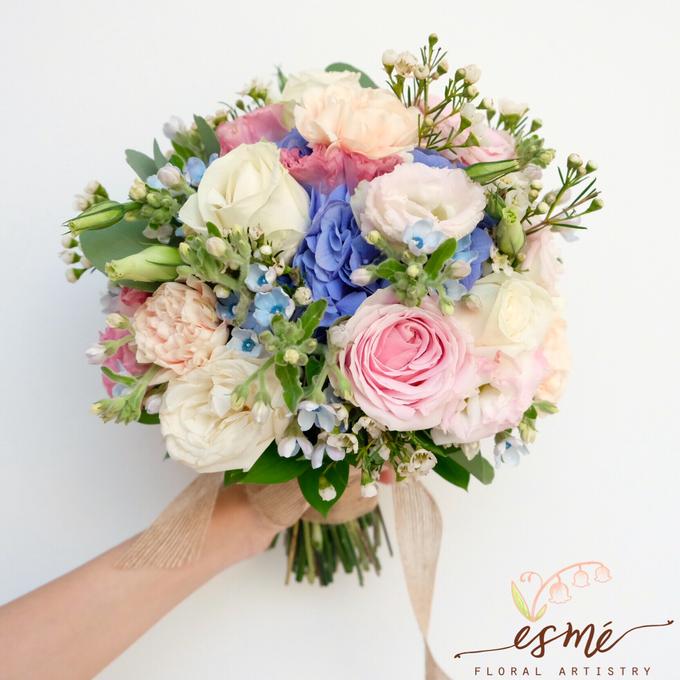 Bridal Bouquet by Esme Floral Artistry - 015