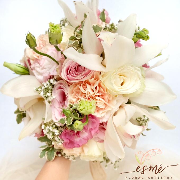 Bridal Bouquet by Esme Floral Artistry - 016