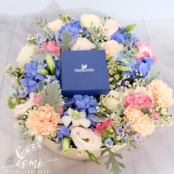 Flower Box by Esme Floral Artistry - 001