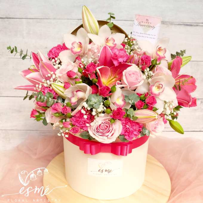 Flower Box by Esme Floral Artistry - 003