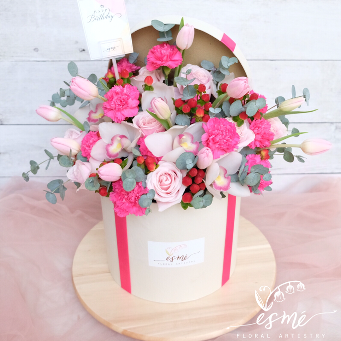 Flower Box by Esme Floral Artistry - 004