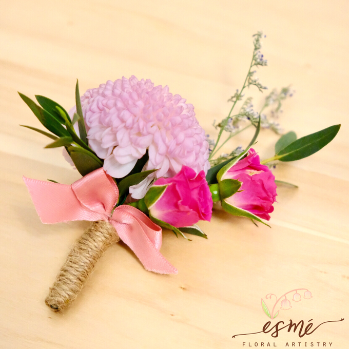 Boutonnieres by Esme Floral Artistry - 012