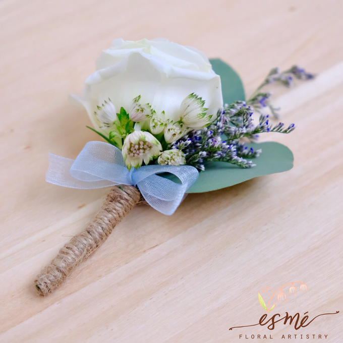 Boutonnieres by Esme Floral Artistry - 013