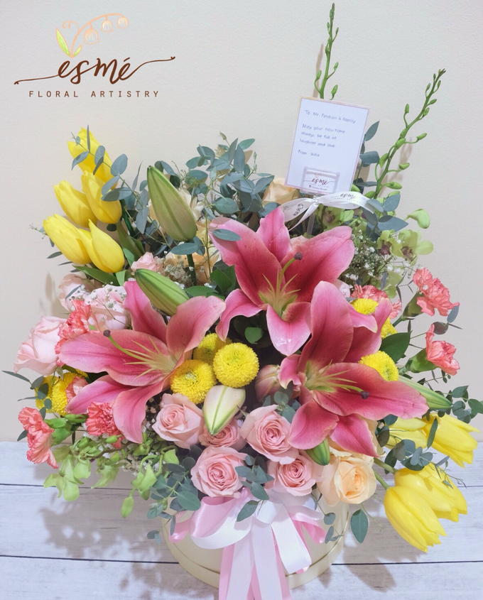 Flower Box by Esme Floral Artistry - 010