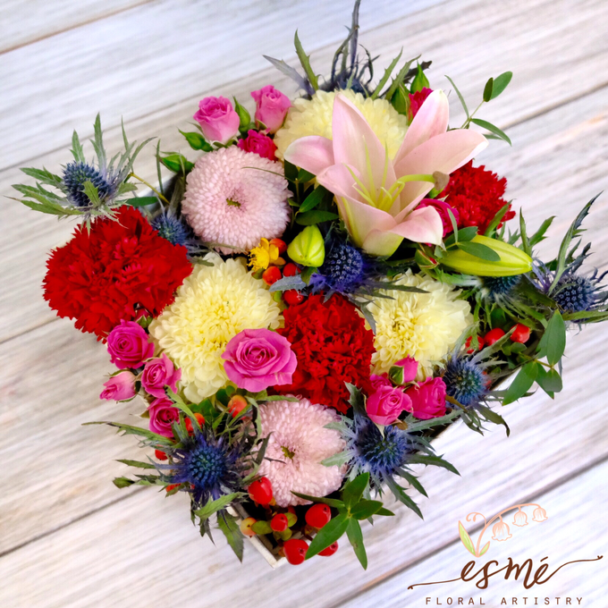 Flower Box by Esme Floral Artistry - 012