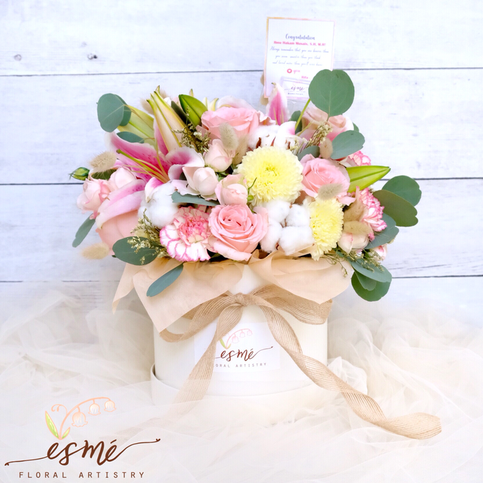 Flower Box by Esme Floral Artistry - 017