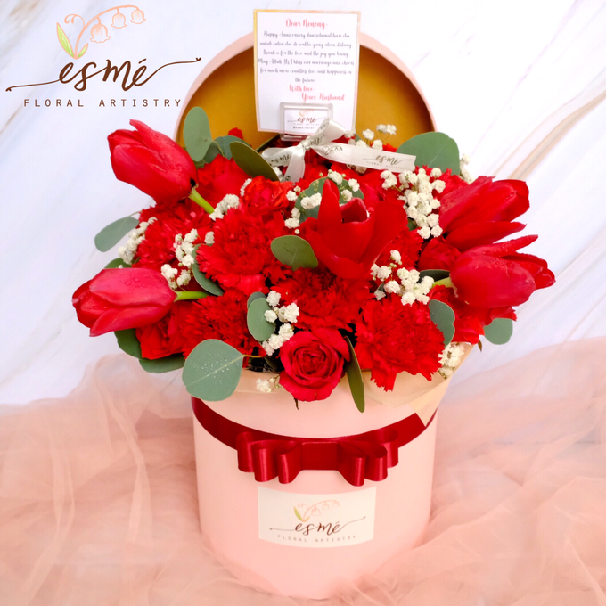 Flower Box by Esme Floral Artistry - 019