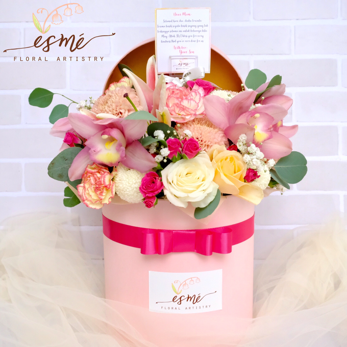 Flower Box by Esme Floral Artistry - 020