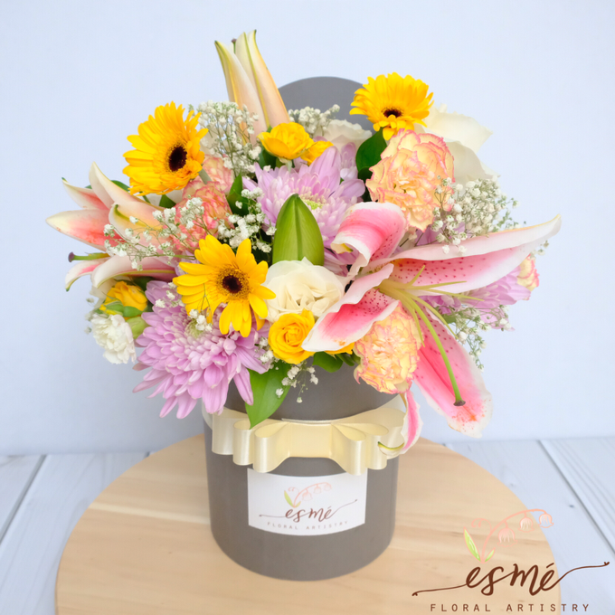 Flower Box by Esme Floral Artistry - 022