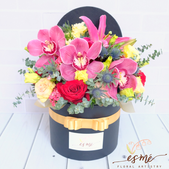 Flower Box by Esme Floral Artistry - 024
