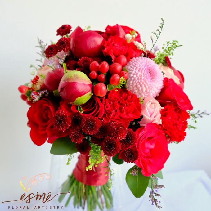 Bridal Bouquet by Esme Floral Artistry - 028