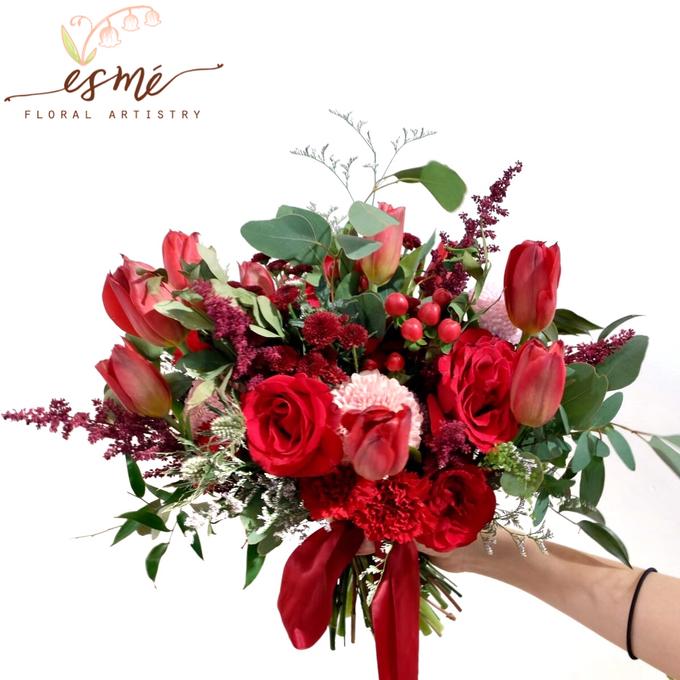 Bridal Bouquet by Esme Floral Artistry - 025
