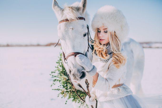 Wedding In Gzhel Style by Marina Nazarova Photographer - 022