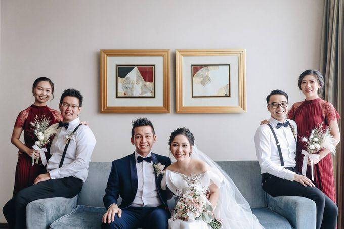 William & Selvi Wedding at Hilton Hotel by PRIDE Organizer - 008