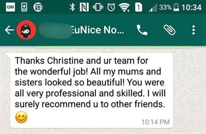 Reviews from Clients by Makeupwifstyle - 019