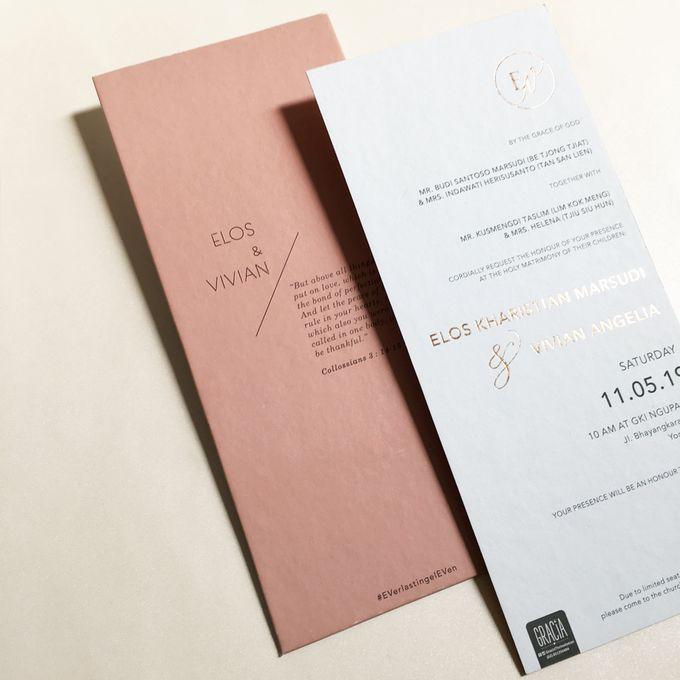 Elos & Vivian by Gracia The Invitation - 002