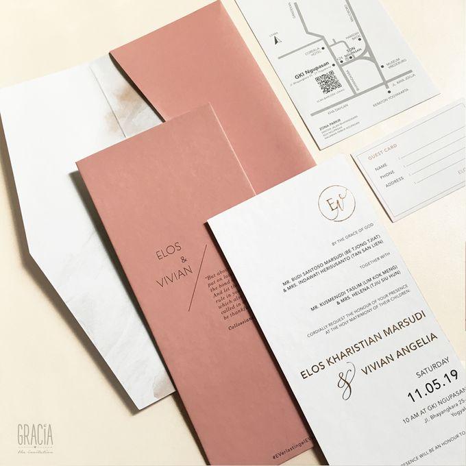 Elos & Vivian by Gracia The Invitation - 003
