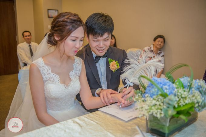 AD Wedding Evan + JL by Rendezvous Hotel Singapore - 001