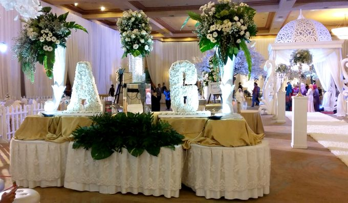 Adiezty Fersa & Gilang Dirga Wedding by Alfabet Catering - 003