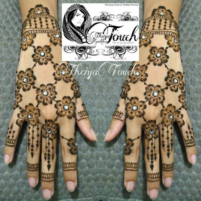 Henna Artwork Designing by Theiya Goddess Touch - 013