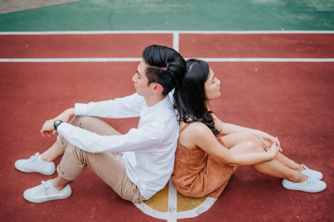 A pastel themed casual couple shoot! by Ohey Studios - 007