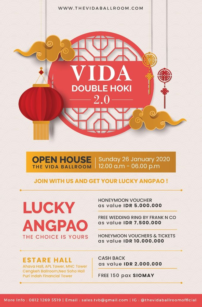 Open House The VIDA Ballroom  - Jakarta Barat by The Vida Ballroom - 002