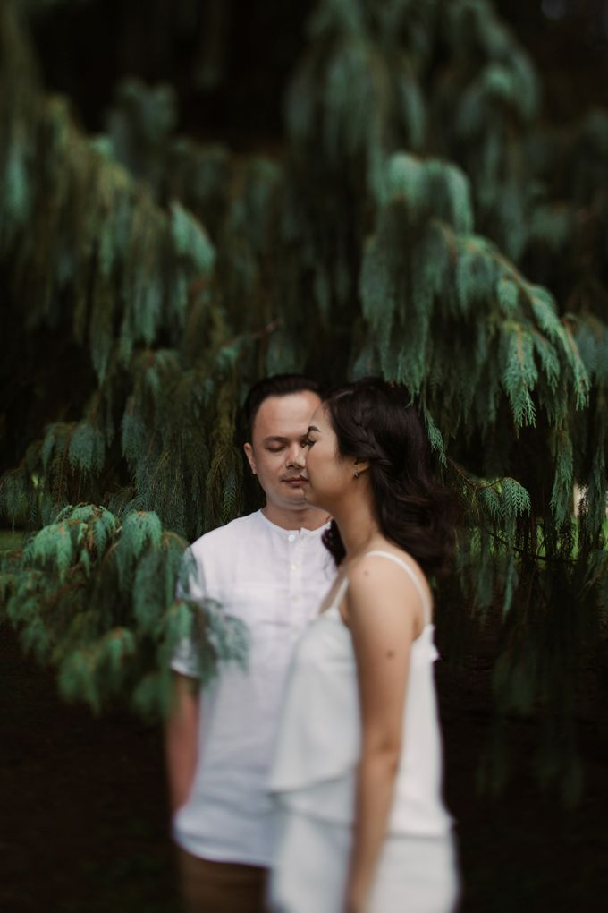 Exquisite Lake & Forest Prewedding of Evita & Benny in Bali by fire, wood & earth - 013