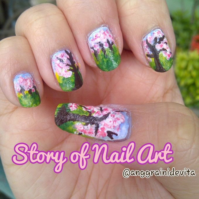 Painting Nails by Story of Nailart - 016