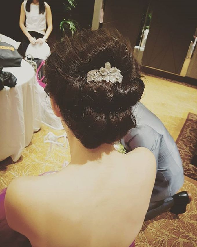 Bridal Makeup and Hairstyle by SueLim & artmakeup - 050
