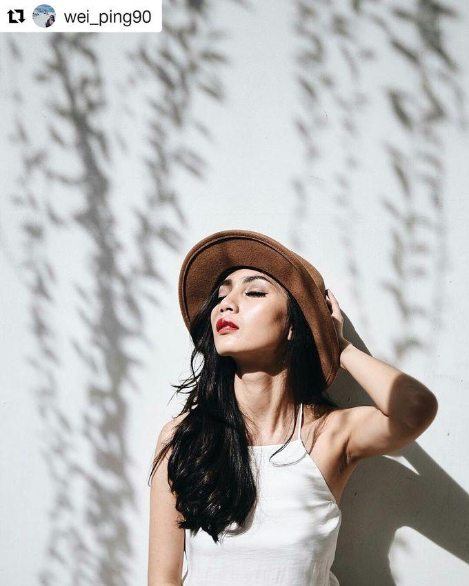 Prewedding Make Up by Julinar Tan Make Up Artist - 033