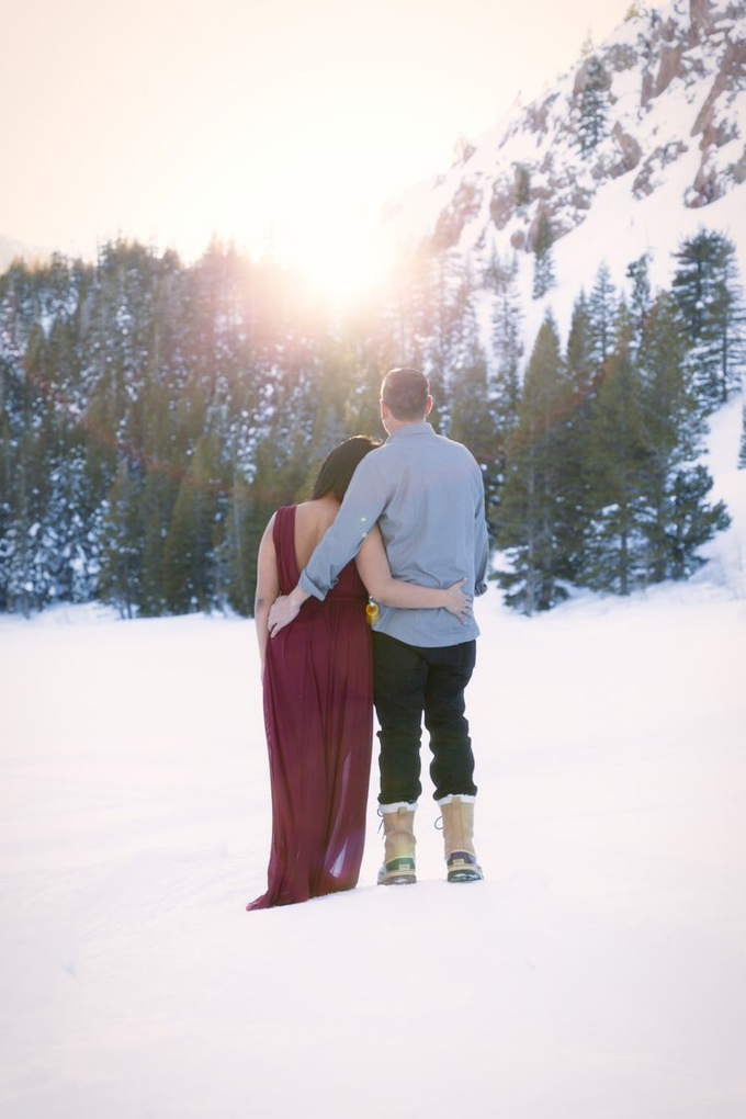 Mammoth Engagement session with Lucy & Brian  by Explore in Love Adventure Wedding Photography - 003