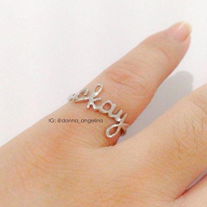 Name & Initial by DA Jewelry - 006