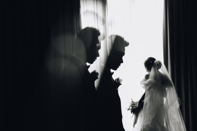 William & Selvi Wedding at Hilton Hotel by PRIDE Organizer - 014