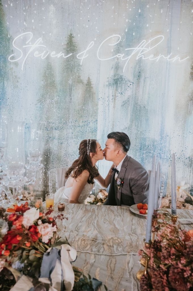 Steven & Catherin Wedding at Aston Cirebon by PRIDE Organizer - 021
