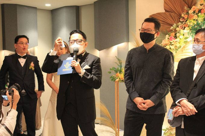 MC Wedding Double V Entertainment at JHL Solitaire Serpong by Double V Entertainment - 001