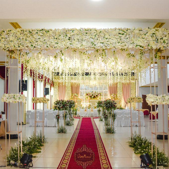 The Wedding of Salsabilla & Hisyam by Diamond Weddings - 007