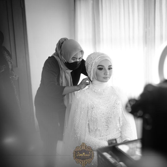 The Wedding of Salsabilla & Hisyam by Diamond Weddings - 016